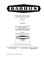 Shire Owners' Manual (11 Build) 70 & 90 (PDF) - EP Barrus