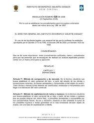 INSTITUTO GEOGRÁFICO AGUSTÍN CODAZZI