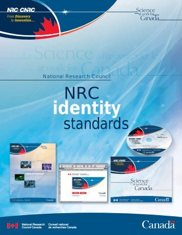 identity - National Research Council Canada - Conseil national de ...