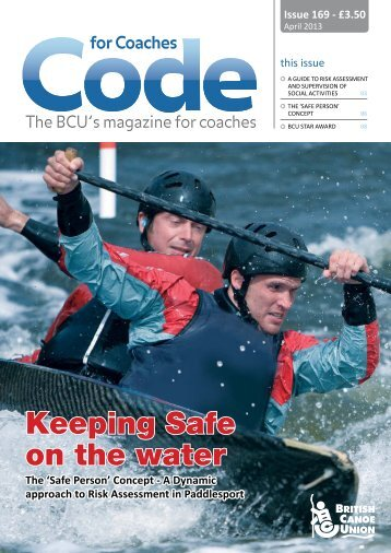 Code 169 - British Canoe Union