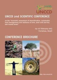 CONFERENCE BROCHURE - UNCCD 2nd Scientific Conference