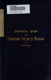 School law and a history and description of the educational system ...