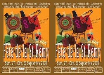 Sam. 27 & Dim. 28 Septembre 2008 Sam. 27 & Dim. 28 Septembre ...
