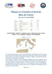 TDG_Programme Croisière Bleu de France - Tribune de Genève