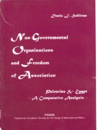 Non-Governmental Organisations and Freedom of Association