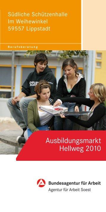 Ausbildungsmarkt Hellweg 2010 - Wirtschaftsförderung Kreis Soest