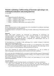 Teknisk vejledning - Beredskabsstyrelsen
