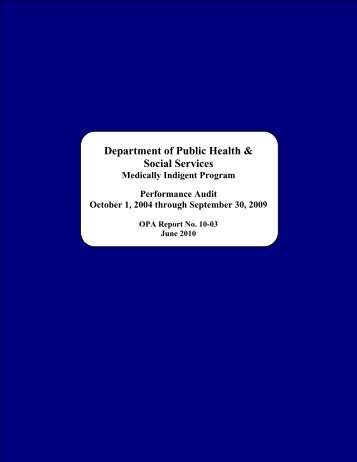 Department of Public Health & Social Services - The Office of Public ...