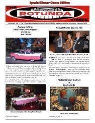 Annual Dinner-Dance a Hit! - Ford & Mercury Restorers Club of ...