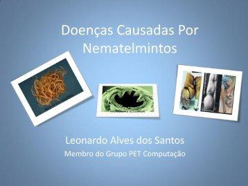 Doenças Causadas Por Nematelmintos - Departamento de ...