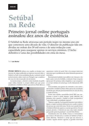 Setúbal na Rede - Clube de Jornalistas