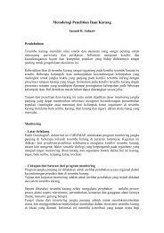 Metodologi Penelitian Ikan Karang - coremap