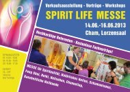 Messemagazin - EsoNatura Messen