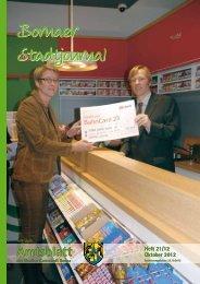 Amtsblatt der Großen Kreisstadt Borna 21/12 - Druckhaus Borna