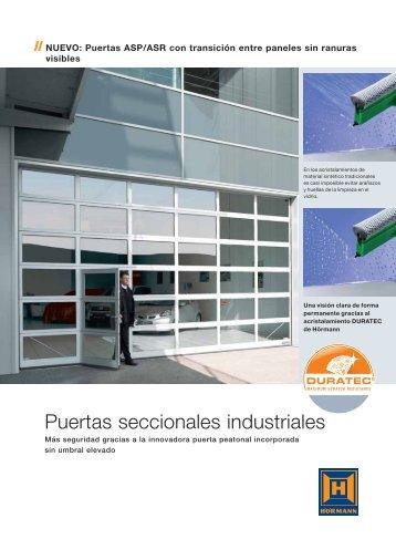 Catalogo puertas industriales - Puertas Ferrara