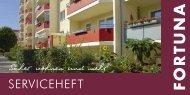 ServiceHeft - FORTUNA Wohnungsunternehmen eG