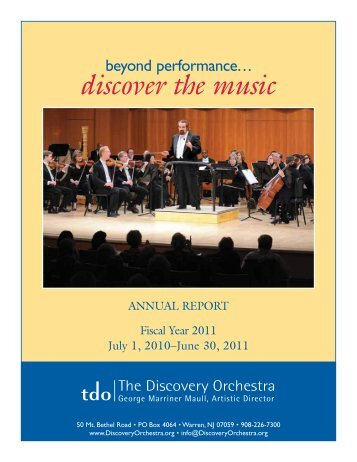 discover the music - The Discovery Orchestra