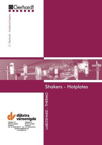 shakers - hotplates