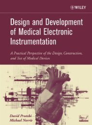 DESIGN AND DEVELOPMENT OF MEDICAL ELECTRONIC ...