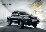 Brosura Toyota Hilux 2012