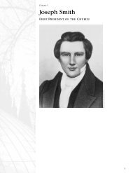 Presidents : Chap 1 - Joseph Smith