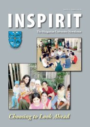INSPIRIT No 12 - Summer 2005-2006 - Haigazian University