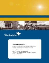 Hanzelijn Monitor - BIS - Gemeente Zwolle