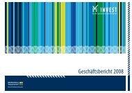 Geschäftsbericht 2008 - Gesellschaft für Wirtschaftsförderung