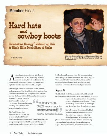 Hard hats and cowboy boots.pdf - Basin Electric Power Cooperative