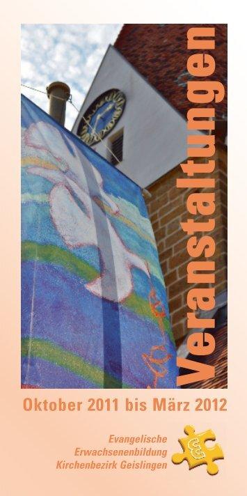 Psalmen - Evangelische Erwachsenenbildung Geislingen