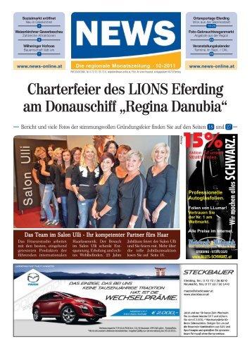 schluss: 18.10.2011 Für Beilagen- versand ... - NEWS-ONLINE.at