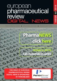 Article 2, 2010 - European Pharmaceutical Review