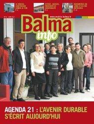 agenda 21 : l'avenir durable s'écrit aujourd'hui - Mairie de Balma