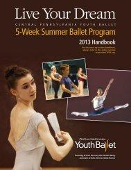 5-Week Summer Ballet Program 2013 Handbook - Central ...