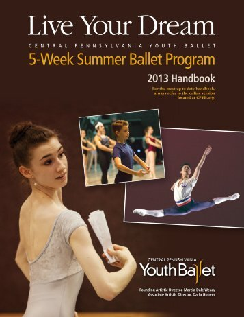5-Week Summer Ballet Program 2013 Handbook - Central ...