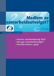 Medlem av samarbeidsutvalget? - Drammen kommune
