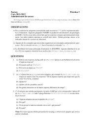 Xarxes Pràctica 3 Curs 2011-2012 Administració de ... - Deic.uab.es