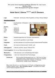 mit 57 Zimmern - der Montana Hotels Deutschland