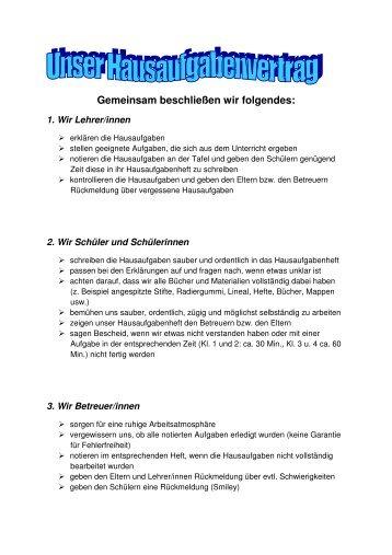 Gemeinsam beschließen wir folgendes: - Grundschule Kredenbach