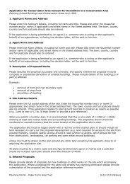 Application for Conservation Area Consent for ... - Planning Portal