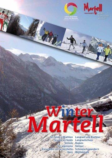 Langlauf und Biathlon Langlaufschule Rodeln Skitour ...