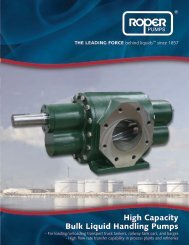 High Capacity Bulk Liquid Handling Pumps - BBC Pump and ...