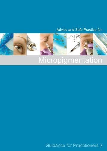 Micropigmentation / Guidance