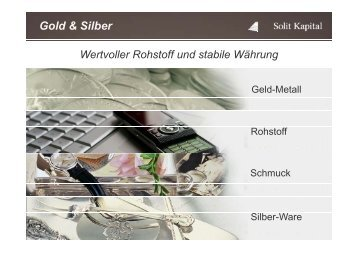 Gold & Silber - MMM-Messe