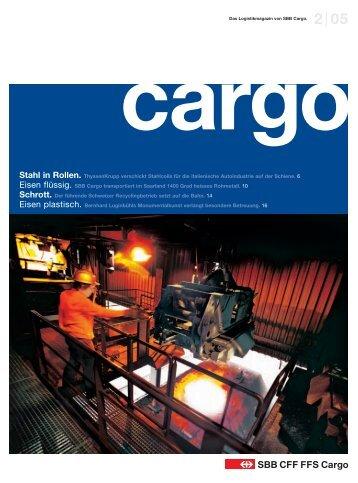 Stahl in Rollen. ThyssenKrupp verschickt Stahlcoils für ... - SBB Cargo