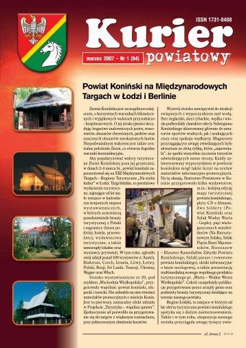 Kurier Powiatowy nr 1(64) - Powiat koniński