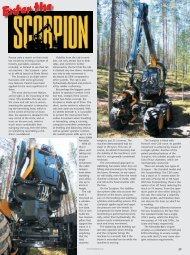 Enter the Scorpion - Forestry Journal