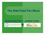 The Side-Feed Fan Stove