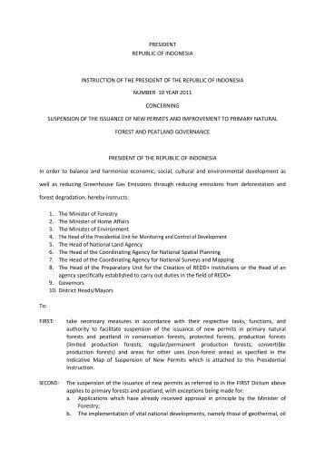 moratorium - GCF