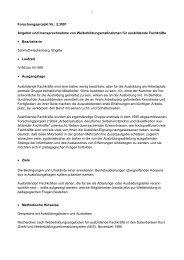 Forschungsprojekt Nr.: 2.3001 Angebot und ... - BiBB